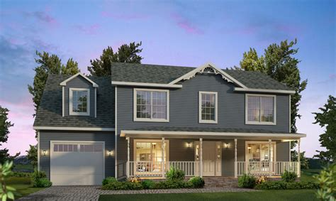 Gambrel Style by Brookville Two Story Style Modular Homes