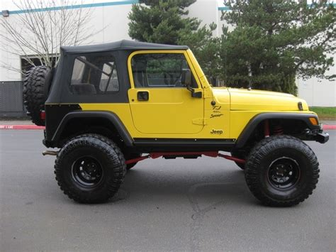 suv jeep 2000 2000 jeep wrangler suv 4x4 6 speed manual 72kmi