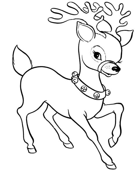 reindeer coloring pages coloring pages of reindeer az coloring pages