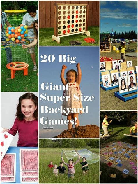 big backyard games condo blues 20 super fun super sized outdoor games
