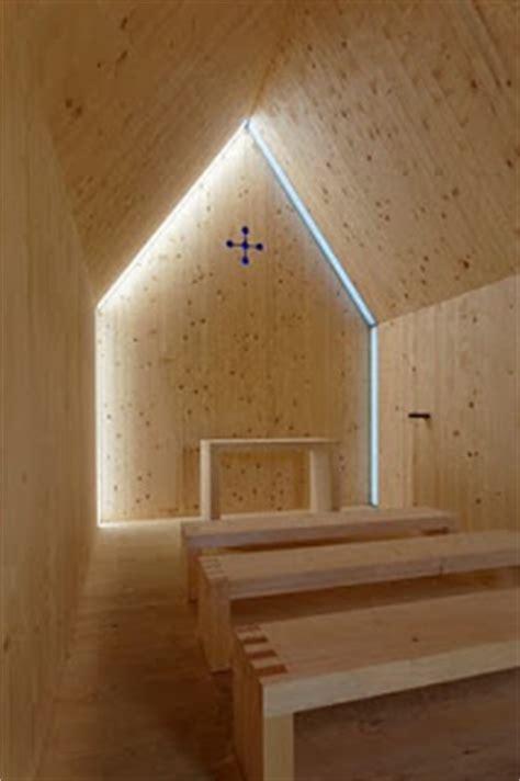 modern minimalist mountain chapel
