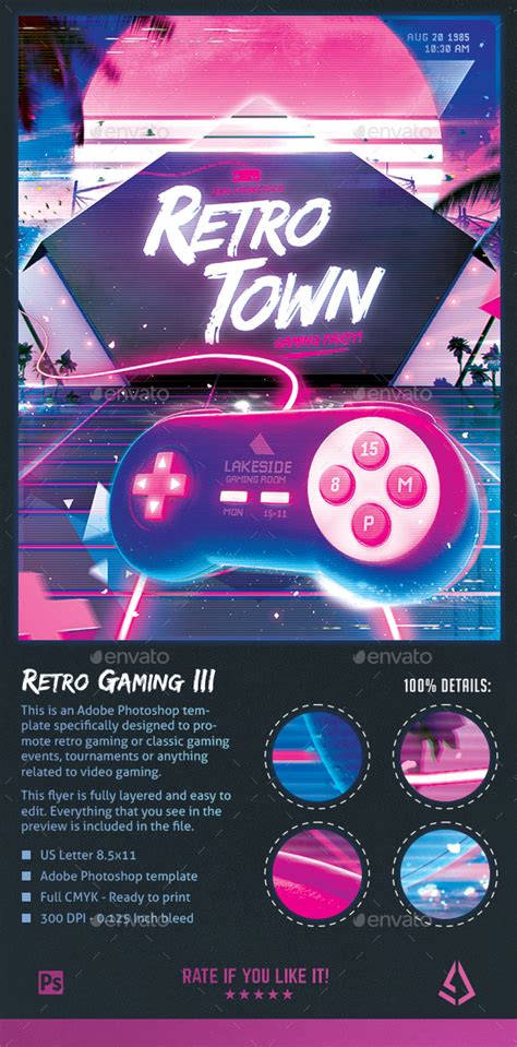 Graphic River Gaming Style Flyer Template 187 Dondrup Com Graphicriver Iii Flyer Template