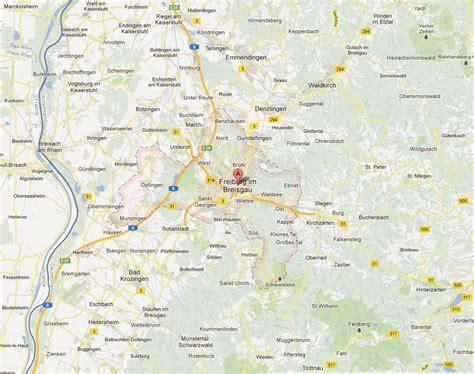 map of freiburg freiburg map and freiburg satellite image
