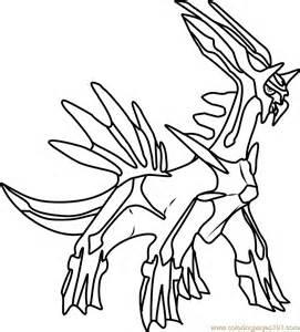 dialga pokemon coloring page free pok 233 mon coloring pages