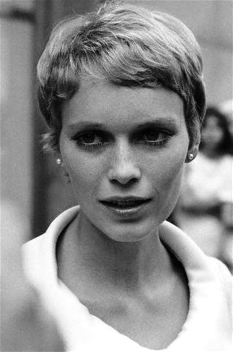 pixie cut from 1960 108 best images about muses mia farrow on pinterest
