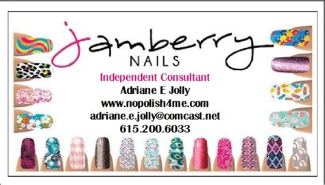 jamberry sle card template jamberry nails business cards templates used for self