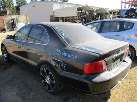 black mitsubishi galant 2003 2003 mitsubishi galant es black 2 4l at 163798 mitsubishi