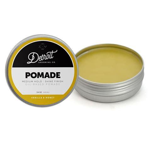 Oilbased Medium Hold 3oz based pomade the pomade 3 4 oz detroit grooming co