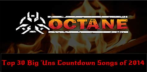 song of 2014 top 30 octane big uns countdown songs of 2014 rock
