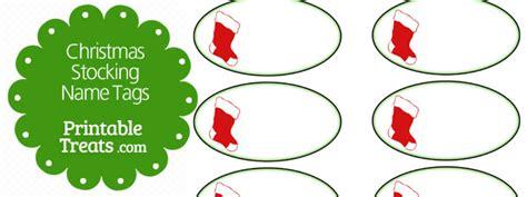printable name tags for stockings printable christmas stocking name tags printable treats com