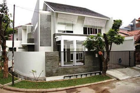 design minimalis hook ツ 20 desain rumah hook sudut minimalis 1 2 lantai modern