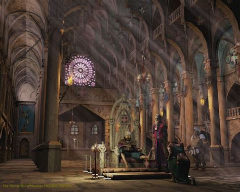 Castle Throne Room by Interaction Overview Advanced Interactive 3d Design