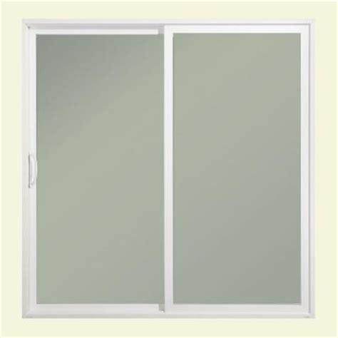 Home Depot Sliding Glass Patio Doors Jeld Wen 72 In X 80 In Premium Atlantic Left Aluminum Sliding Patio Door With Impactgard