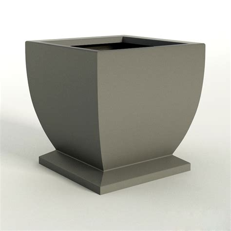 novara square planter pots modern unique outdoor planters