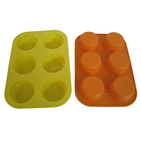 Big J Mini Bakeware Set Loyang Mini Set 5 Buah rubber muffin pans silicone muffin cupcake baking pan set 12 24 mini cup sizes non