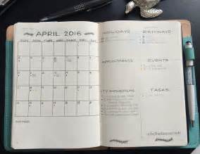 Calendar Journal 14 Monthly Spreads Layout Inspiration For Your Bullet