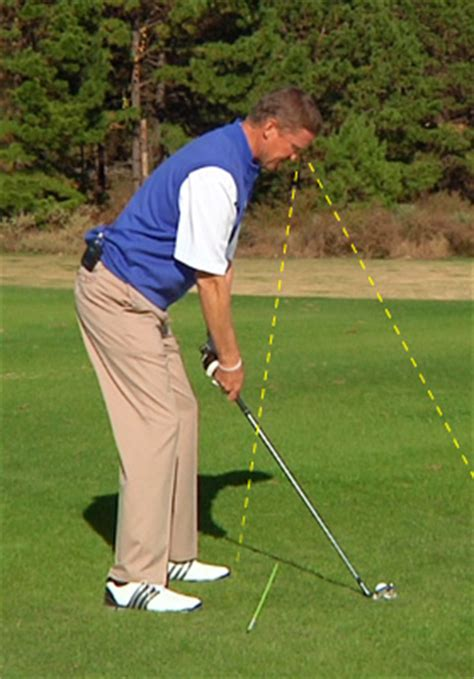 golf swing head position shawn humphries head up at address