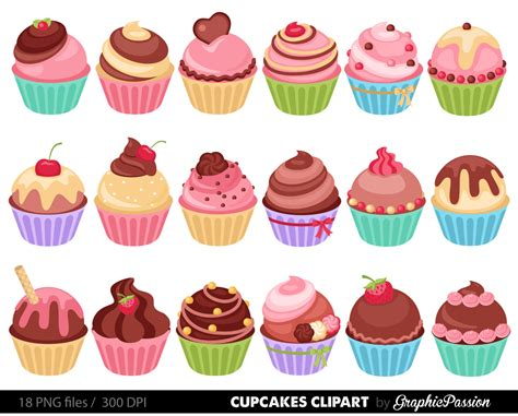 Cupcakes Clipart   Fotolip.com Rich image and wallpaper
