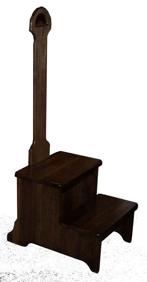Amish Step Stool With Handle by Mega 2 Step Step Stool With Handle Andy S World Of Wood