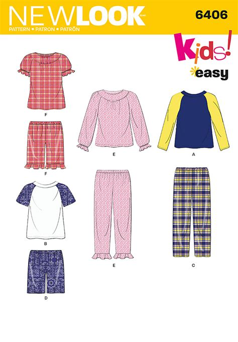 pattern sewing review new look 6406 toddler child cozywear
