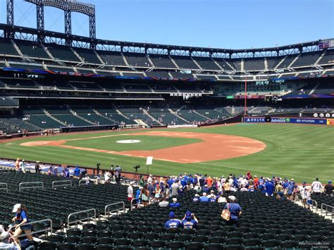 section 110 citi field citi field section 110 rateyourseats com