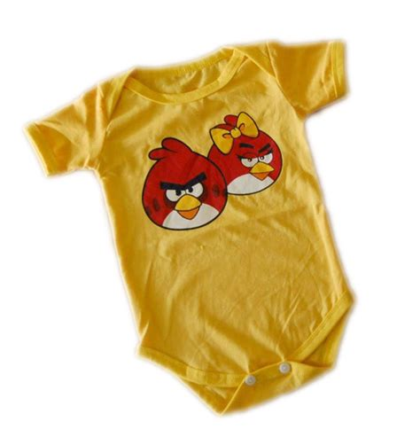 Kaos Birds 5 baju bayi angri bird grosir baju anak dan baju bayi murah