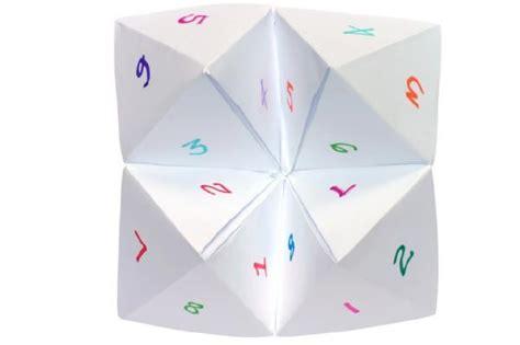 Make Fortune Teller Origami - fortune in make origami paper 171 embroidery origami