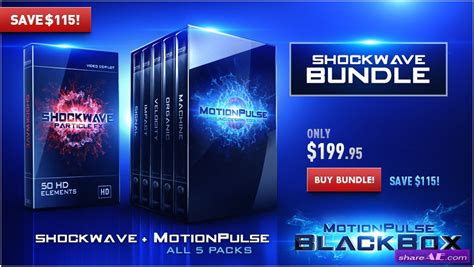 templates after effects video copilot video copilot motionpulse blackbox shockwave bundle
