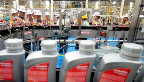Pelumas Per Liter Pertamina Miliki Pabrik Pelumas Terintegrasi Terbesar Asia