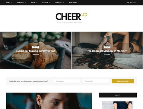 wordpress themes free blog personal 30 best personal blog wordpress themes 2018 athemes