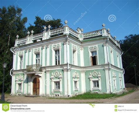 small italian house plans pavilion the italian small house in ancient manor stock image image 5886141