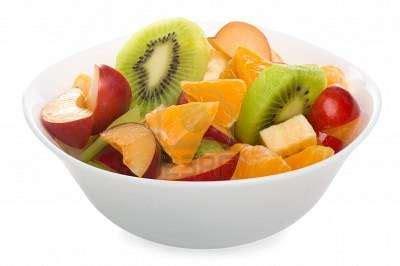 Salad Buah Segar Fruit Salad With Granola sop buah
