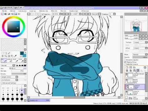 paint tool sai clipping tutorial how to use quot clipping quot on paint tool sai