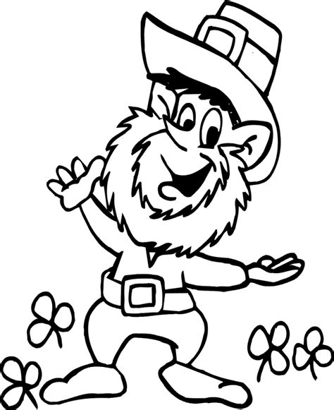 Angry Leprechaun Coloring Pages Coloring Pages Leprechaun Coloring Page