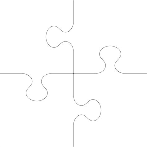 puzzle cut out template best photos of 5 puzzle template puzzle pieces