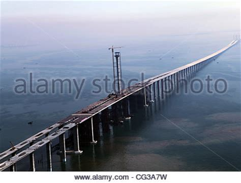 qingdao haiwan bridge longest sea bridge the qingdao haiwan bridge was completed