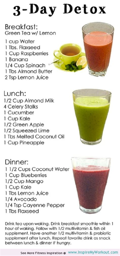 One Week Liquid Detox Diet by 3 Week Detox Diet Diettoday