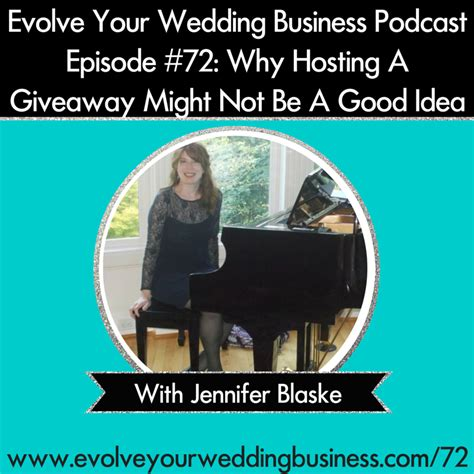 Wedding Giveaway Contest - my podcast interview wedding giveaway contests jennifer mccoy blaske