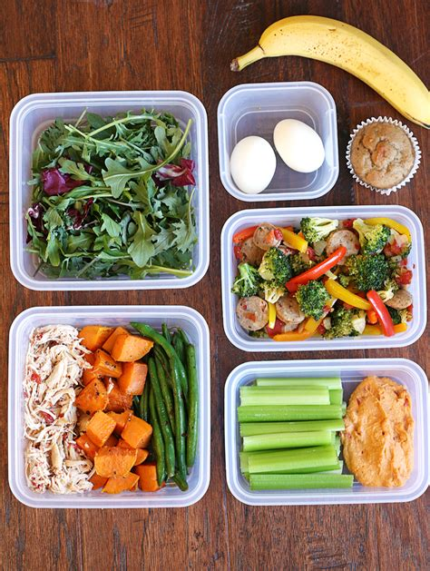 food prep meals my weekly meal prep routine eat yourself skinny