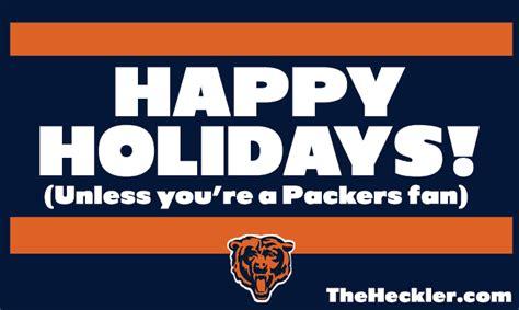 digital holiday cards  chicago sports fans  heckler
