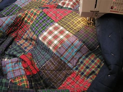Plaid Patchwork Quilts - best 25 tartan crafts ideas on burberry