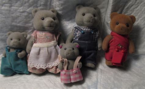 bear doll house 5 vintage doll house teddy bear story bear family miniature