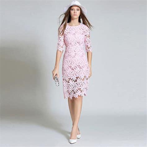 Bc Lace Midi Skirt Pink pink lace midi dress co