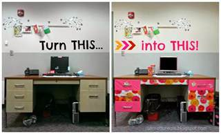 Office Desk Decorating Cut Craft Create Decorate Your Office Space Part 1