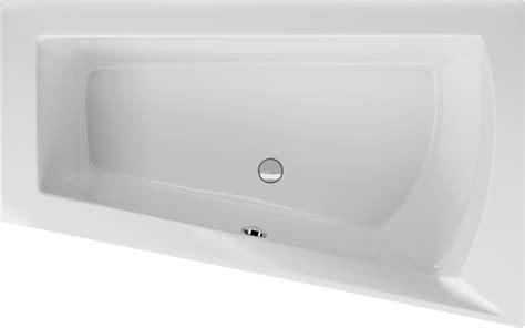 badewanne asymmetrisch raumsparwanne 160 x 100 cm asymmetrisch trapez badewanne acryl