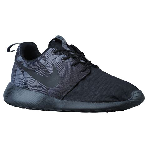 best mens nike roshe one shoes black black grey