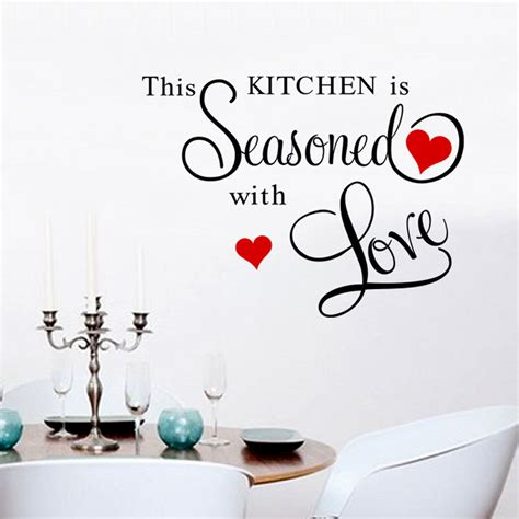 rugnur cucina i love my kitchen and utensils cream red popular kitchen decal quotes buy cheap kitchen decal