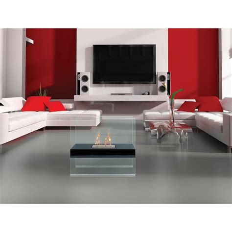 anywhere fireplace madison 28 in vent free ethanol