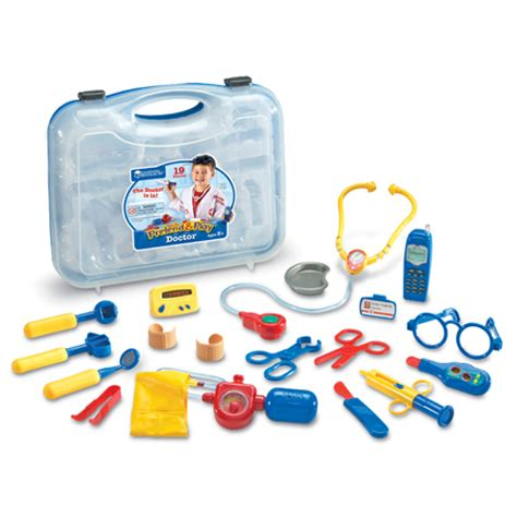 toys doctor learning resources pretend play doctor set