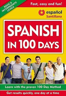 libro learn spanish in a spanish in 100 days libro 3 cds aguilar aguilar 9781603966511